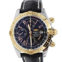 Breitling Chronomat Evolution Rose Gold and Stainless Steel...
