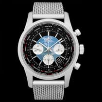 Breitling Transocean Chronograph Unitime new Automatic Watch with original box and original papers AB0510U4/BB62