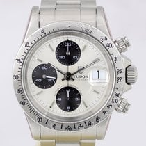 Tudor Big Block 94300 Silver Dial 1980 Papers Oysterband...