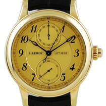 L.Leroy Chronograph 41mm Automatic 2013 pre-owned Gold