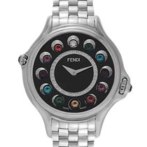 Fendi Steel 38mm Quartz F107031000D2T05 new