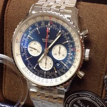 Breitling Navitimer 01 (46 MM) Steel 46mm Blue No numerals United Kingdom, Wilmslow