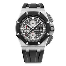 Audemars Piguet Royal Oak Offshore Chronograph Titanium 44mm Grey No numerals United States of America, Iowa, Des Moines