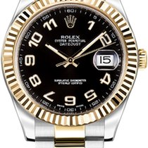 Rolex Chronometer 41mm Automatic pre-owned Datejust II Black