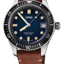Oris Divers Sixty Five Steel 42 mmmm Blue No numerals