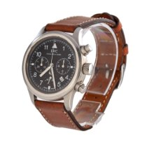 IWC IW3741 Staal 1990 Pilot Chronograph 36mm tweedehands