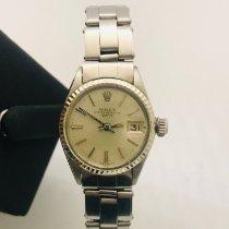 Rolex Oyster Perpetual Lady Date Acél 26mm Számjegyek nélkül