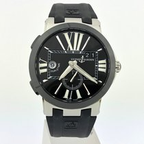 Ulysse Nardin Executive Dual Time 243-00-3/42 Muy bueno Acero 43mm Automático