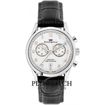 Philip Watch Sunray Steel 49mm White Arabic numerals