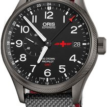Oris Big Crown ProPilot GMT Steel 45mm Black Arabic numerals United States of America, California, Moorpark