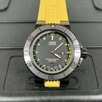 Oris Steel 46mm Automatic Aquis Depth Gauge pre-owned