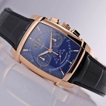 Parmigiani Fleurier Kalpa Rose gold 48.2mm Blue Arabic numerals United States of America, New Jersey, Princeton