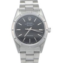 Rolex Air King Precision Steel 34mm Black No numerals United States of America, New York, Oyster Bay