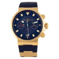 Ulysse Nardin Blue Seal Rose gold Blue