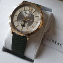 Versace 42mm Quartz VBQ030017 new