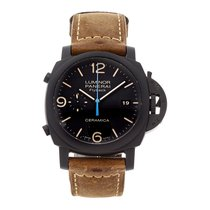Panerai Luminor 1950 3 Days Chrono Flyback Keramik 44mm Schwarz Arabisch