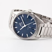Omega Globemaster Steel 39mm Blue No numerals United States of America, New Jersey, Oradell