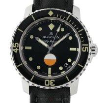 Blancpain Fifty Fathoms neu Automatik Uhr mit Original-Box und Original-Papieren 5008-1130-B52A