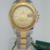 Rolex Oyster Perpetual Lady Yacht-Master 2 Tone 29 mm REF: 169623