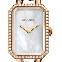 Chanel Rose gold Quartz Mother of pearl 16mm new Première