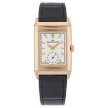 Jaeger-LeCoultre Reverso Duoface Rose gold 42.90mm Silver United Kingdom, London