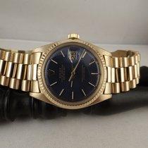 Rolex datejust ref. 1601 gold anno 1975 oro 18kt President