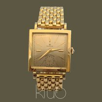 Rolex Yellow gold Manual winding Champagne No numerals 27mm pre-owned Oyster Precision