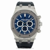 Audemars Piguet Royal Oak Chronograph Platinum 41mm Blue United States of America, California, Beverly Hills