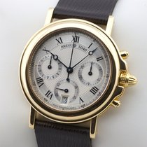 Breguet Marine Chronograph 3460 18K Gold Automatic Service...