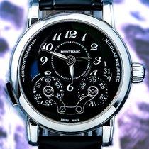 Montblanc Chronograaf 43mm Automatisch tweedehands Nicolas Rieussec Groen