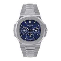 Patek Philippe Nautilus White gold 40mm Blue No numerals United States of America, New York, New York
