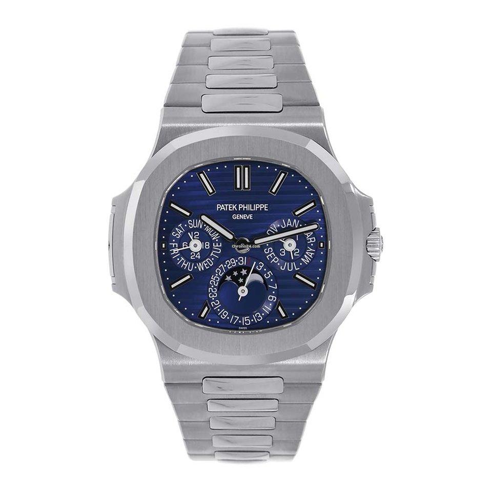 Patek Philippe Nautilus 40mm 18K White Gold Watch 5740/1G-001 SEALED