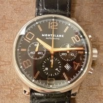 Montblanc Chronograph 43mm Automatic 2014 pre-owned Timewalker Black