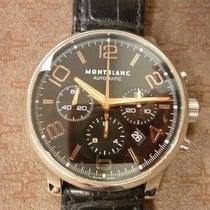 Montblanc Chronographe 43mm Remontage automatique 2014 occasion Timewalker Noir