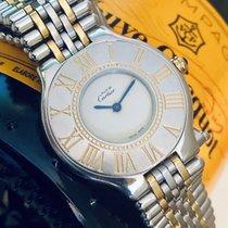 Cartier Must De Cartier 21 unisex lady womes bi-metal watch + Box