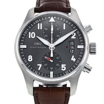 IWC Pilot Spitfire Chronograph pre-owned 43mm Steel