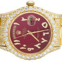 Rolex Day-Date 36 36mm Red Arabic numerals