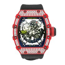 Richard Mille RM35-02 Carbono 2019 RM 035 49.94mm novo