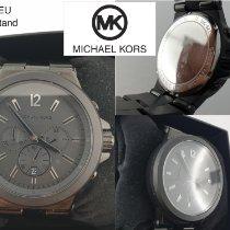 Michael Kors Stahl Quarz Schwarz Arabisch 45mm gebraucht
