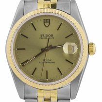 Tudor Prince Date Gold/Steel 36mm Champagne United States of America, New York, Lynbrook