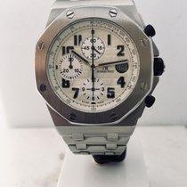 Audemars Piguet Royal Oak Offshore Chronograph Ocel 42mm Stříbrná (masivní) Arabské