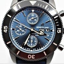 Breitling Superocean Héritage II Chronographe Acero 44mm Azul Sin cifras