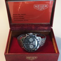 Heuer Steel 40mm Manual winding 2446C pre-owned