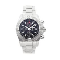 Breitling Avenger II Steel 43mm Black No numerals United States of America, Pennsylvania, Bala Cynwyd