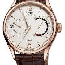 Oris Rose gold White new Artelier Calibre 111