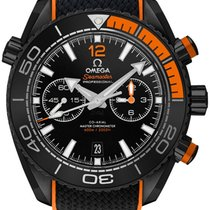 Omega Seamaster Planet Ocean Chronograph Cerámica 45.5mm Negro Sin cifras