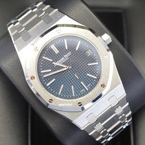 Audemars Piguet Royal Oak Jumbo Steel 39mm Blue No numerals United States of America, Virginia, Arlington