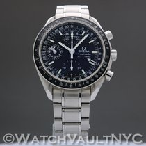 Omega Speedmaster Day Date Steel 39mm Black United States of America, New York, White Plains