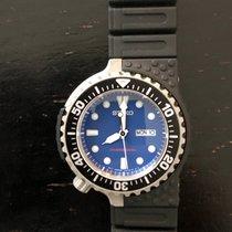 Seiko Prospex 44mm Blue No numerals