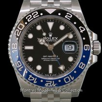Rolex GMT-Master II Acier 40mm Noir France, Paris